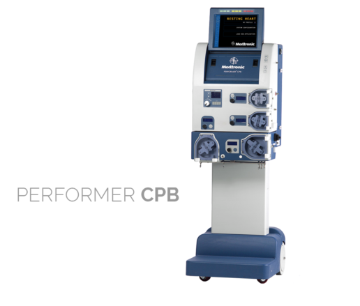 Performer CPB. The first high-rise heart-lung machine. One third footprint of legacy systems. Developed for Medtronic Inc.