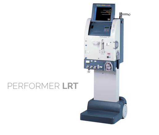 Performer LRT. The first multifunctional system for extracorporeal circulation therapies: CRRT, Plasma Exchange, Artificial and Bio-Artificial Liver support, Surgical oncology.